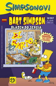 Bart Simpson Blázen do Sergia