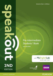 Speakout Pre-Intermediate Students´ Book with DVD-ROM and MyEnglishLab Access Code Pack