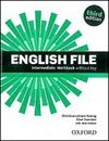 English File Intermediate Workbook without key + iChecker CD-ROM